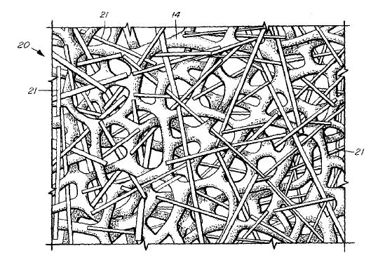 Reticulated Foams with Fibers