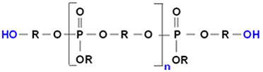 Phosphorous polyol as used in the invention