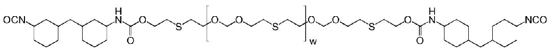 H12MDI-thiodiglycol-polyformal adduct