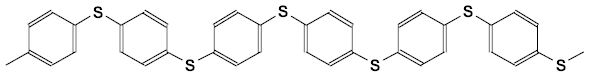 Poly (1,4-phenylene sulfide) (PPS)
