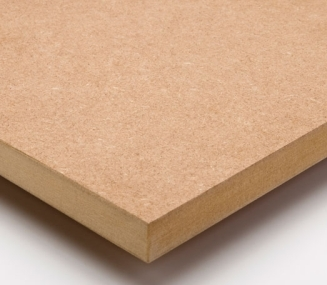 Medium density fibreboard (MDF).
