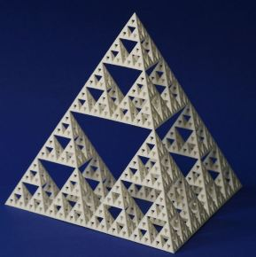Tetrahedron made by SLS