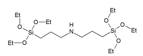 Bis(3-(triethoxysilyl)propyl)amine