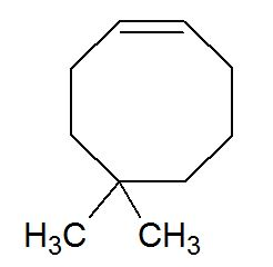 5,5-dimethylcyclooct-1-ene